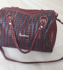 Bordo torba - kao nova