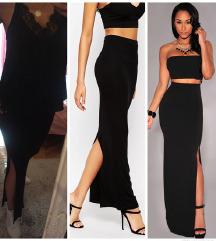 Tube crna pamučna suknja 🖤snizeno🖤