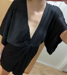 Zara crna haljina v izraz