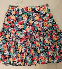 Floral suknja sa karnerima