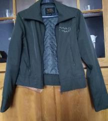 Tamno maslinasto, svilekansta jaknica