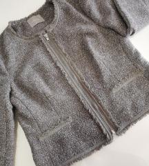 Orsay jaknica od tvida protkana srebrnim nitima