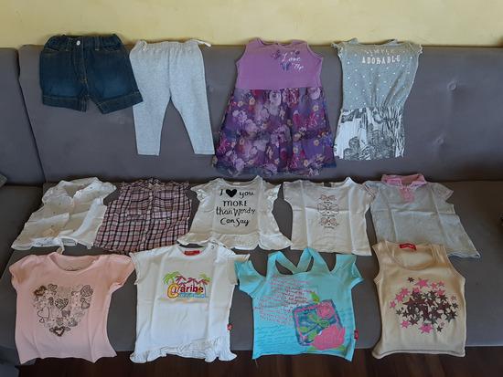 Paket letnjih stvari za devojcicu od 1,5 do 2,5god