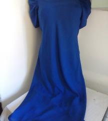 Kraljevsko plava haljina M