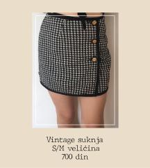 Vintage suknja XS/M