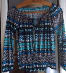 Bluza u divnim, plavim bojama