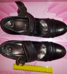 Kožne ženske cipele br 37