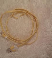 Žuti USB kabl