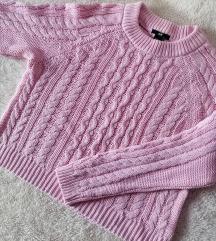 HM crop džemper