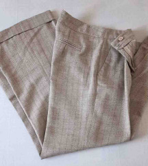 Vintage Blind Date pantalone sa manzetnama