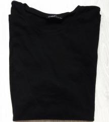 Klasična crna pamučna majica XL - 2XL