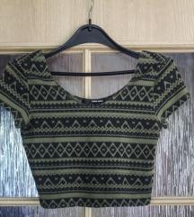 Aztec crop majica