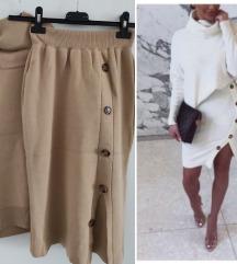 Suknja i rolka novo s/m