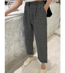 Karirane pantalone Yessica 42