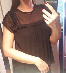 Crna bluzica od tila