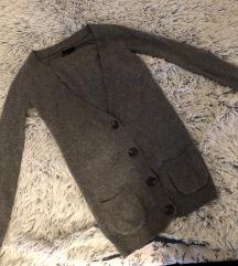 SNIZENJE Massimo Dutti dzemper kasmir svila vuna