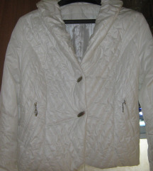 50%CHRISTIAN DIOR bela jaknica 40