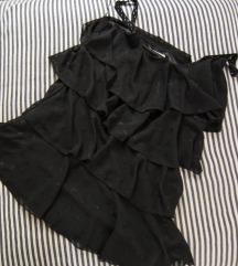 Koton crna haljina sa karnerima, vel. 42