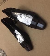 Braon kozne italijanske cipele, NOVO