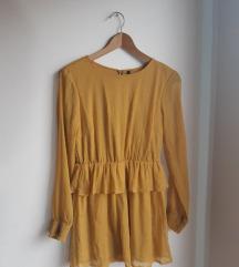 Letnja haljinica na dugi rukav