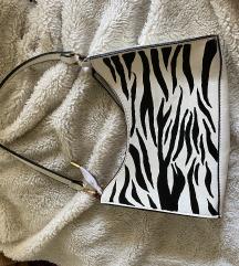 Zebra shoulder bag
