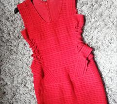 DANAS 2900✿ Herve Leger crvena haljina/KAO NOVO