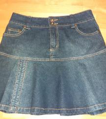 Teksas suknja, 97% pamuk