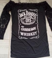 JACK DANIEL'S majica sa rukavima od cipke vel M