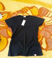 Lee Cooper crna pamucna majica, NOVO