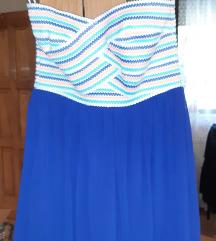 Letnja haljina bez bretela Amisu