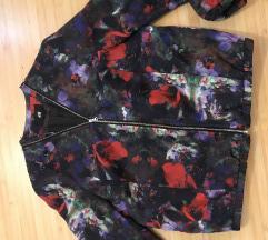 Bomber cvetna jakna