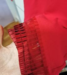 Crvena mango haljina, nova