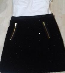 Suknja crna Vero moda XS-S