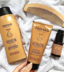 Keratin Farmasi sampon i maska za kosu Novo