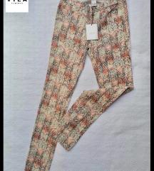 VILA dezenirane pantalone NOVO