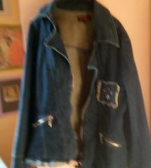 Neobicna teksas jakna ili sako na zip