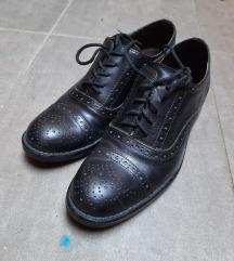 Crne Oxford kožne cipele 36