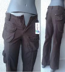 pantalone braon broj S VELON