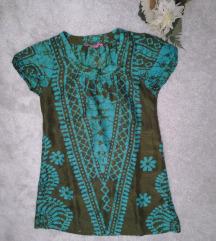 ♫ ♪ ♫  INDISKA svilena haljina/tunika NOVO