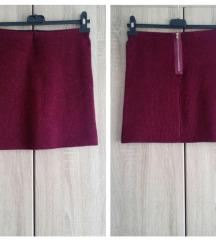 Nova bordo svetlucava suknja