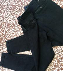 Get Inspired svetlije crne farmerke/pantalone M/L