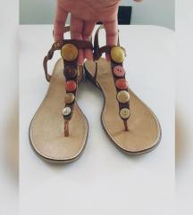 Italijanske kozne sandale