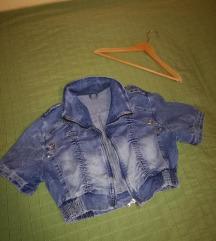 Zanimljiva kratka teksas jaknica