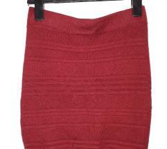 Amisu bordo suknja