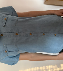 vintage plava košulja