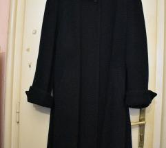 Crni ženski kaput 3/4 dužina