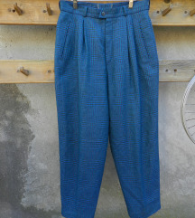 Retro vunene pantalone L/XL