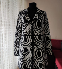Crno-beli džemper