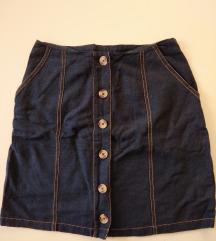 C&A teksas suknja