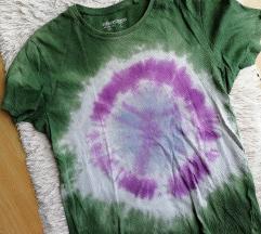 Tie-dye oversized majica Clockhouse M
